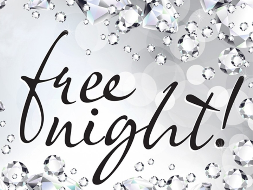 Free Night Image. Use FREE Code to apply this Offer