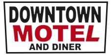 Image of Downtown Motel Woodward's Logo